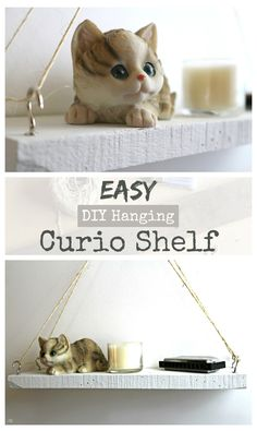 How do you build a hanging shelf? It's EASY and I will show you how! I'll even share a shop secret with you while we're building this shelf! Click to learn more!