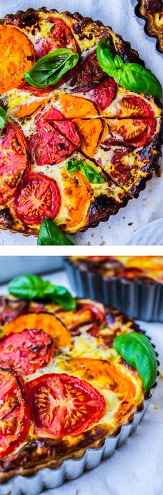 Tomato Tart with Blue Cheese - The Food Charlatan
