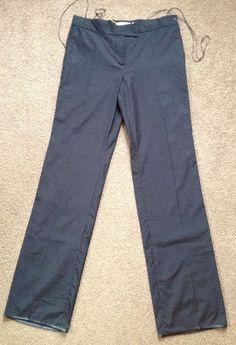 Jean Paul Knott Women's Luxury Black Cotton Dress Slacks Pants US 8 Fr 40 | eBay