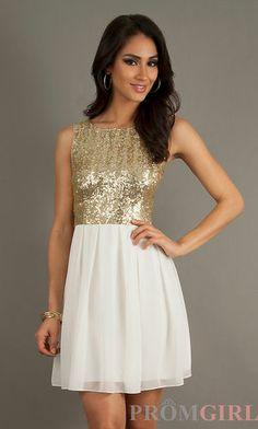 Short Sleeveless Sequin Embellished Dress $172