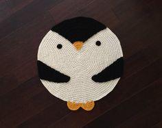 Ganchillo manta de zorro alfombra hecha a mano tapete de