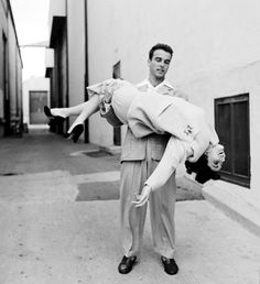 Elizabeth Taylor  & Montgomery Clift  on the set of A Place in the Sun