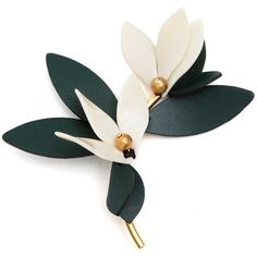 MARNI Flower brooch (€215) ❤ liked on Polyvore featuring jewelry, brooches, marni, marni jewelry, blossom jewelry, flower jewellery and flower broach
