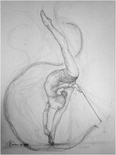 disegni ginnastica ritmica - Cerca con Google