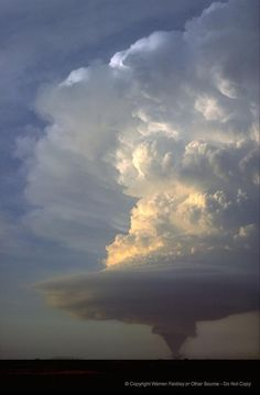 """Tornado - """"Yes, he weighs down the clouds with moisture; he scatters his lightning in the clouds; they carry out whatever he commands on the surface of the entire earth. All Nature, Science And Nature, Amazing Nature, Weather Cloud, Wild Weather, Weather Storm, Fuerza Natural, Tornados, Thunderstorms"""