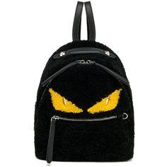 54d25f033ab3 Fendi Monster Mini Shearling Backpack ( 3