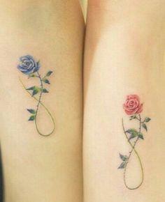 Rose Infiniti tattoo