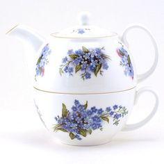 just love  forget me nots - Tea for One
