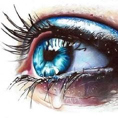 Eye art - Eye art The Effective Pictures We Offer You About salute pictures A quality picture can tell you m - Beautiful Eyes Color, Lovely Eyes, Pretty Eyes, Cool Eyes, Crying Pictures, Eye Pictures, Crying Eyes, Eye Images, Eyes Artwork