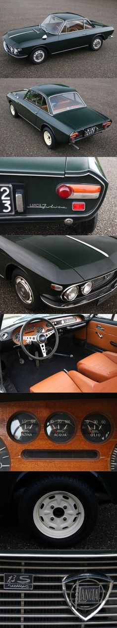 1968 Lancia Fulvia Coupe Rally 1.3S  / Witmer & Odijk / Italy / green http://amzn.to/2sUc9NZ