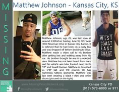 Find Missing Matthew Johnson!