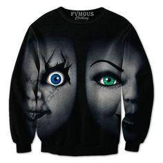 "Unisex ""Seed of Chucky"" (Chucky and Tiffany)."