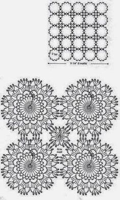 My dear friends and fellow crochet addicts, this post is especially written and fondly dedicated to all those in love with the flower power...
