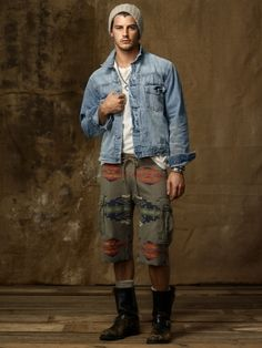 I'd sport this just because it's different enough, not to push the Pendleton trend
