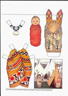 Holly's Friends ~~ SIOUX GIRL Ѯ ULLA DAHLSTEDT'S GALLERY 2 of  2