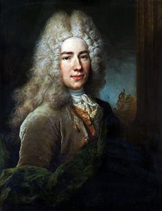 Nicolas de Largillière: Portrait of a gentleman. 1715.
