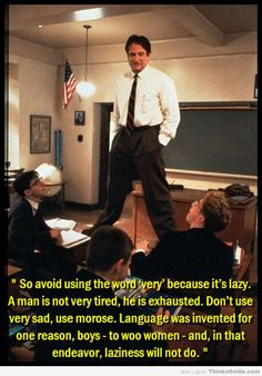 Great movie, and even better advice.