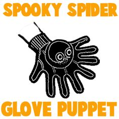 How to Make a Spooky Spider Glove Puppet - Kids Crafts & Activities Glove Puppets, Hand Puppets, Scout Activities, Craft Activities For Kids, Puppet Tutorial, Diy Tutorial, How To Make Spiders, Fun Crafts, Crafts For Kids