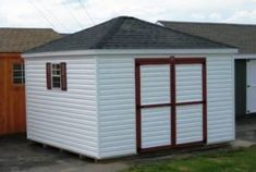 12 12 Hip Roof Shed Plans Blueprints For Crafting A Square Shed Shed Plans Shed Hip Roof