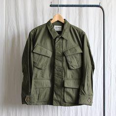 Fatigue Jacket #olive satin