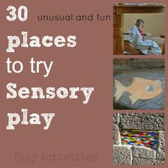 New places for activities... because sometimes we all need a change.