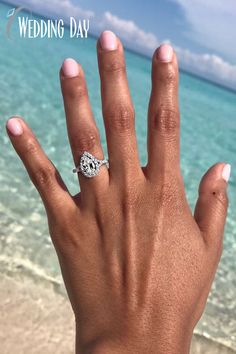 Looking for a fancy shape diamond? We have the largest selection! Only from Wedding Day Diamonds! Wedding Bells, Wedding Reception, Wedding Rings, Pear Diamond Rings, Dream Wedding, Wedding Day, Best Engagement Rings, Moissanite Rings, Wedding Planning