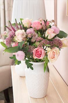 Best known for iconic floral prints, Laura Ashley are introducing their new fresh flowers range, available at Next. Perfectly selected to create an opulent look, this bouquet is a romantic collection of blooms in a soft palette of pretty pinks. Featuring beautiful chrysanthemum blooms, roses, veronicas, astrantias and asclepsias, paired with natural eucalyptus stems, this luxurious bouquet will make a stunning gift for all occasions.