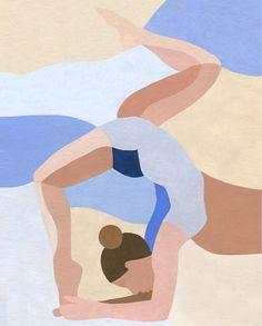 Inès Longevial is a French artist based in Paris. Painting Inspiration, Art Inspo, Illustrations, Illustration Art, Pop Art, Meditation Art, Art Abstrait, Elements Of Art, Art Plastique