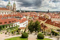 Vrtba Garden Prague, Czech Republic | The Vrtba Garden, a photo from Prague, Bohemia | TrekEarth