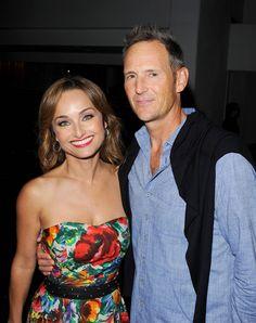 Giada De Laurentiis and her husband Todd Thompson - REX Features