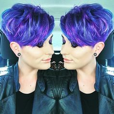 I can't wait to be 80 w/a Mohawk and purple hair.