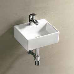 Shop the gorgeous Cubetto Wall Hung Small Cloakroom Basin. Perfect for cloakrooms and smaller bathrooms. Now in stock at Victorian Plumbing.co.uk.