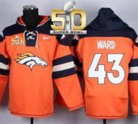 Nike Denver Broncos  7 John Elway Orange Super Bowl 50 Player Pullover NFL  Hoodie Nfl 6a75fd464