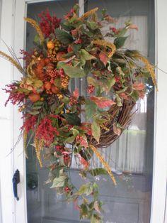 Fall Wreaths 2012