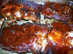 Bobbi's Kozy Kitchen: BBQ Baby Back Ribs