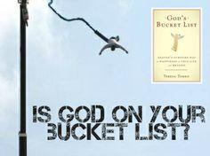 "Read ""God's Bucket List"" by @Teresa Tomeo"