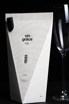 Vin Grâce Wine Packaging | The 25 Coolest Packaging Designs Of 2013