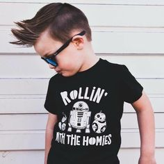 Trendy toddler and kid Star Wars tee. Disneyland Inspired Outfit Source by neverlandcrew Toddler Boy Fashion, Little Boy Fashion, Toddler Boy Outfits, Kids Outfits, Disneyland Outfits, Disneyland Shirts, Disney Outfits, Boy Disney Shirts, Disney With A Toddler
