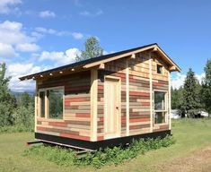 192 Sq. Ft. Micro Home: The Red House By Tiny Life Supply