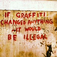 Graffiti - Bansky