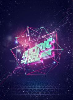 Electric Feel - MGMT by Sebastián Andaur, via Behance