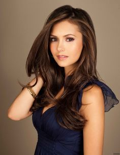 Nina Dobrev, love her hair