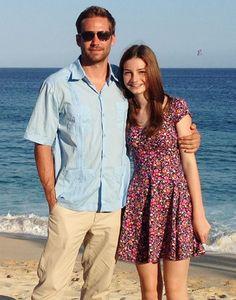 La familia de Paul Walker enseña la foto de la que se sentía más orgulloso: una con su hija