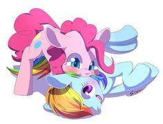 """PinkieDash - """" Pinkie Rasberry!! *rasberry noises* """""""