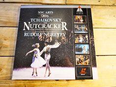 Tchaikovsky casse noisette Nutcraker PAL LASERDISC LD EX Cover EX 1988 Original