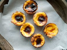 Punched Potatoes: Portuguese Egg Tarts - Pastel de Nata (Part I)