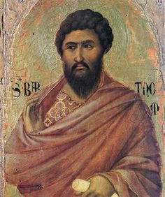 The Apostle Bartholomew - Duccio