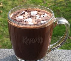Hot Mint Chocolate Toddy