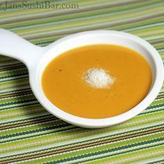 Sweet Potato-Coconut Soup Recipe - Jans Sushi Bar & ZipList