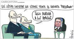 El trazo de Andrés Edery y el gabinete Facebook #Peru